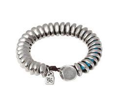 "Bracelet ""Agüita"" By the Spanish bracelet brand Uno de 50."