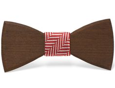"""Clifford"" - Unique handcrafted wooden bow ties made by The Two Guys Bowtie Company."