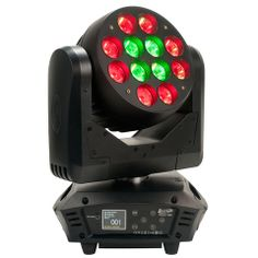 Elation Rayzor Q12 - 185W 12 x 15W RGBW Quad LED Beam Moving Head w/ zone chase effects. The new Rayzor Q12 features (12) 15W Quad Color RGBW LEDs, high speed 1 – Lighting and Production Resources is your one stop for all of your stage lighting, LED retrofitting & system installation needs. (407)967-7716