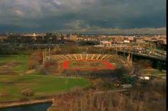 Downing Stadium, Randalls Island, New York City, former home of the New York Stars.