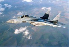 German MiG-29 Fulcrum.