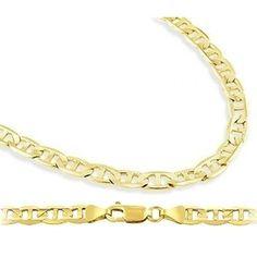 ApexJewels.com- -Solid 14k  Mariner Chain  4.3mm 22 Inch $836 grams??