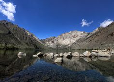 Convict Lake Reflections by nick mangiardi on 500px