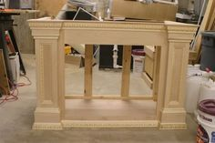 DIY step by step  pictures showing build up base for Aquarium  stand... Beautiful work ~
