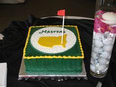 #Masters #AugustaNational grooms cake Groomsmen, Masters, Dream Wedding, Cakes, Desserts, Food, Tailgate Desserts, Deserts, Essen