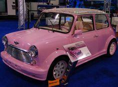 Pink Mini Cooper | .