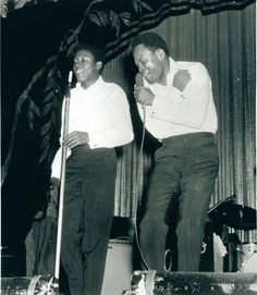 Overtown soul singers Sam & Dave, who would go on to become one of the biggest stars in R&B music in the performing at the King of Hearts club in Liberty City circa Sam Moore, right, is holding the microphone. Source: The Miami Herald. Sam & Dave, Soul Singers, Miami Vice, King Of Hearts, Big Star, Liberty, 1960s, Florida, Stars