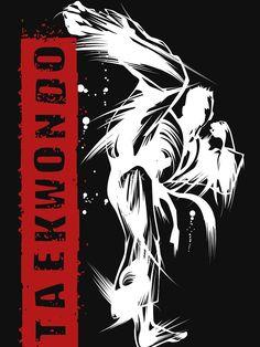 Do you like Taekwondo? Then this Taekwondo Flash Kick Dark design is fit for you. Korean Martial Arts, Mixed Martial Arts, Kung Fu, Taekwondo Belt Display, Yin Yang Art, Marshal Arts, Martial Arts Workout, Tattoo T Shirts, Hapkido