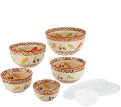 Temptations bowls