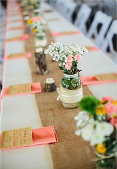DIY Wedding Centerpieces creative 7757385215 Delightfully romantic pointer to make a fascinating do it yourself wedding centerpieces table runners DIY Wedding Centerpieces examples posted on this creative day 20181209 Burlap Wedding Arch, Wedding Table, Rustic Wedding, Burlap Weddings, Camo Wedding, Wedding Country, Wedding Reception Planning, Destination Wedding Invitations, Wedding Ideas