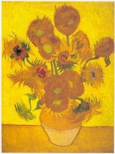 Vincent Van Gogh Sunflowers via Google