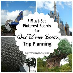 7 Must See Pinterest Boards for Walt Disney World Trip Planning