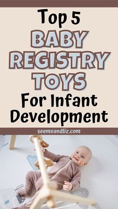 Needing gift ideas for a new baby or baby shower/registry ideas? Take a look at these 5 must have toys that will support infant development. Plus find out how each toy will help a new baby learn and thrive! Baby Registry Essentials, Baby Registry Must Haves, Baby Learning Toys, Fun Learning, Language Development, Baby Development, Kids And Parenting, Parenting Hacks, Best Toddler Gifts