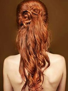 Beautiful Ginger Red #350 | 100% remy human hair extensions | Click photo to shop🔝
