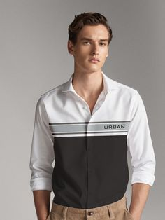 Fashion Shirts, Men's Fashion, Mens Designer Shirts, Men Shirt, Mix N Match, Cloths, Shirt Style, Adidas Jacket, Shirt Designs