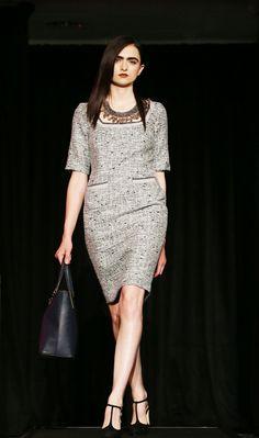 Grey Tweed   The Kilkenny Shop   Dublin Fashion Festival 2013