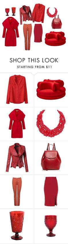Aurora red_1 by colorstyle-hu on Polyvore featuring Keepsake the Label, M&Co, Alice + Olivia, Frances Valentine, Humble Chic, Le Cadeaux and Fitz & Floyd