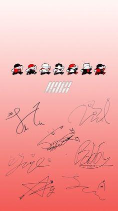 iKON Wallpaper Cr: @rinhyeong