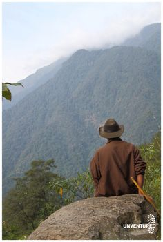 a native cow boy in Eastern India watches over the hills. www.unventured.com