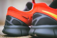 Nike Free Run + 2 Light Crimson