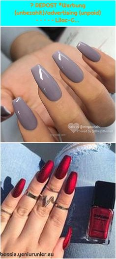 #Acrylnägel #AcrylnagelEntwürfe #anzuregen #kreative #LilacG #repost #rote1. 50 kreative rote Acrylnagel-Entwürfe, zum Sie anzuregen #acrylnagel #anzuregen... 50 kreative rote Acrylnagel-Entwürfe, zum Sie anzuregen #acrylnag... Lilac Grey, Coffin Nails Long, Used Iphone, Gel Polish, Nail Designs, Advertising, Beauty, Red Acrylic Nails, Gel Nail Varnish