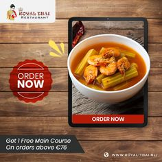 Light and good for the health freak in you...order from us today! . . . . #SafetyFirst #OnlineOrder #FreeDelivery #Thai #ThaiFoods #ThaiDishes #Cuisines #FoodPorn #Foodie #ThaiCuisine #Restaurant #Yummy #Delicious #ThaiFoodLover #FoodLovers #FoodBlogger #SeaFood #ThaiRestaurant #RoyalThai #HygienicEnvironment Best Thai Restaurant, Restaurant Order, Authentic Thai Food, Thai Dishes, Thai Recipes, Amsterdam, Seafood, Food Porn, Health