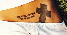 "Angelina Jolie tattoo: Quod me nutrit me destruit. Latin for ""What nourishes me also destroys me"". Have always loved this quote."