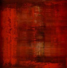 "Gerhard Richter - Abstraktes Bild, 1991. Oil on canvas. 200 cm x 200 cm (78.7"" x 78.7"")"