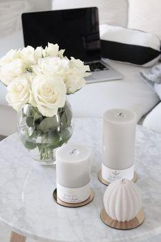Tunnelmalliset Havi's kynttilät – Home Vanilla