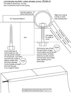 skateboard ramp blueprints - Google Search