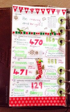 She's Eclectic: My week in my Filofax #49 - close up