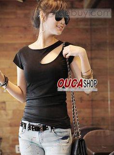 現代韓国スタイル半袖Tシャツ