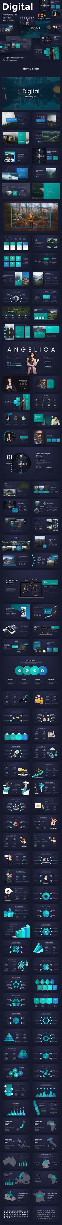 Digital Marketing Pro Design Keynote Template — Keynote KEY #profile #modern • Download ➝ https://graphicriver.net/item/digital-marketing-pro-design-keynote-template/21754183?ref=pxcr