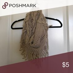 BP light pink/nude scarf BP light pink/nude fashion scarf! lightly worn bp Accessories Scarves & Wraps