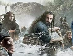 It looks like Fili is looking at Thorin and thinking how majestic he looks. Pinning for that comment!