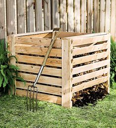 Cedar Composter (We're going to make this, but here's the link to the idea.)