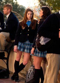 knee highs American School Uniforms, Private School Uniforms, American Uniform, Private School Girl, American High School, Prep School Uniform, School Uniform Outfits, School Girl Outfit, Preppy Outfits