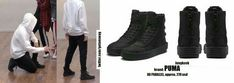 Korean Fashion Men, Mens Fashion, Bts Earrings, All Black Sneakers, High Top Sneakers, Cute Fashion, Fashion Outfits, Bts Clothing, Bts Inspired Outfits