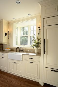 Ashley tudor kitchen traditional with tudor kitchen paneled kitchen window