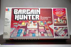Bargain Hunter Game Milton Bradley 1981 by TheGamesAreHere on Etsy