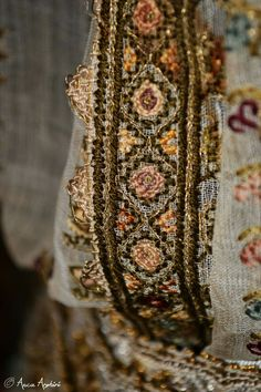 Textiles, Costume, Traditional, Embroidery, Detail, Blouse, Clothes, Collection, Romania
