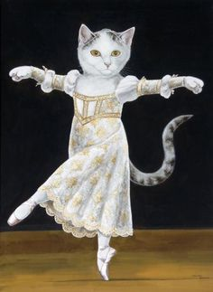 ''Cats are featured in Art throughout the centuries. One of the most famous artists who uses cats as her inspiration is Susan...