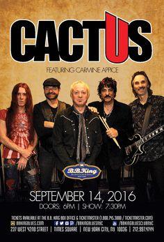 Cactus feat. Carmine Appice (9.14.16)