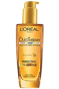 L'Oeal Oleo Therapy Perfecting Oil- Essence 17 Products Hairstylists Hoard from Harpers Bazaar
