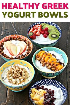 Start the New Year off right with these nutritious and delicious yogurt bowls made with FAGE Total 2 Greek yogurt! Diet Dinner Recipes, Keto Recipes, Healthy Recipes, Healthy Snacks, Yogurt Bowl, Yogurt Parfait, Greek Yoghurt, Ketogenic Diet Starting, Eating Light