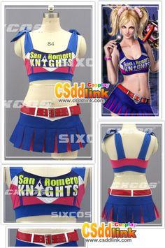 Lollipop Chainsaw Cheerleader Juliet Starling by CSddlinkcosplay, $110.00