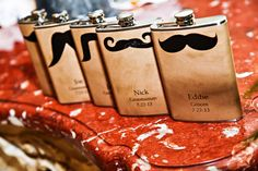 I mustache you a question – will you be my #groomsman? #wedding #Disney #favors