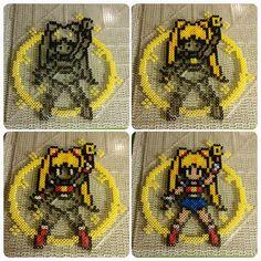 Moon Healing Escalation - Sailor Moon perler fuse beads by b.dawg.skip