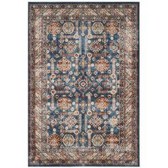 You'll love the Broomhedge Royal/Ivory Area Rug at Wayfair - Great Deals on all Rugs products with Free Shipping on most stuff, even the big stuff.
