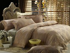 Duvet cover set Luxury Queen bedding Dolce Mela DM444Q